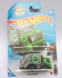 Hot Wheels Total Disposal - Caminhão de Lixo