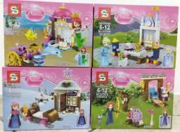 Lego Princesas com Cenário