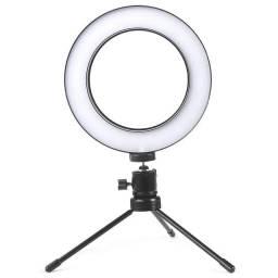 Iluminador de Led Ring Light com 16CM Diâmetro - Foto e Vídeo (fretegrátis)