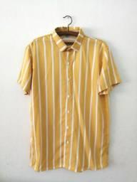 Camisa Botão listrada