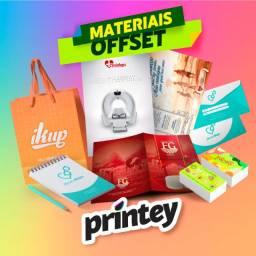 Materiais impressos Offset (Cartões,Panfletos,Cartazes,Pastas,Blocos,Envelopes,Timbrados)