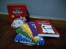 """Coleção livros """"Diário de um Banana"""" - 5 livros"""