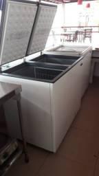 Freezer Esmaltec 305 Litros - Novíssimo