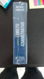 Livro de Manual de Direito Administrativo- Matheus Carvalho