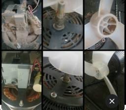 Limpeza completa interna e externa + lubrificação de ventiladores