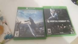 Dois jogos mídia física Xbox one