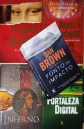 Coleção Dan Brown- 5 títulos