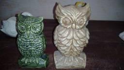 Peças de decoração de porcelana