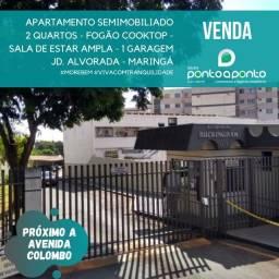 VENDA | Apartamento, com 2 quartos em Jd. Alvorada, Maringá