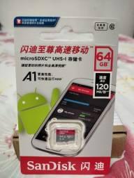 Promoção MicroSDXC class 10 ultra, 64gb