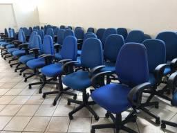 Lote 40 cadeiras de escritório diretor flexform