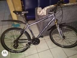 Bicicleta aro 26 com nota fiscal é manual