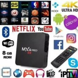 Mxq Pro aparelho para canais ilimitados