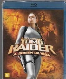 vd023 Dvd *blu-ray* Lara Croft - Tomb Raider - A Origem Da Vida