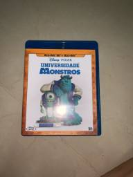 DVD Blu-ray 3D Universidade Monstros