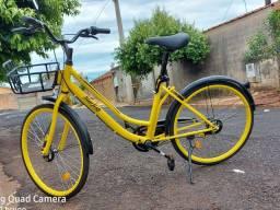 Bicicleta 26 amarela