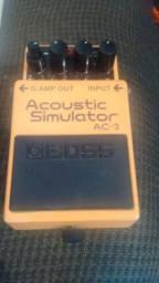 Pedal boss acoustic simulador AC - 3
