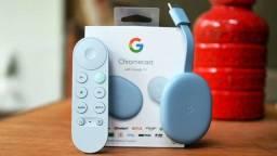 Chromecast com google TV (novidade original)