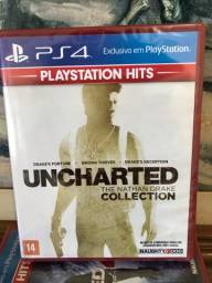 Uncharted The Nathan Drake Collection - Lacrado - Novo - Jogo Ps4