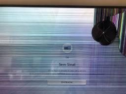 Tv para retirada de peca