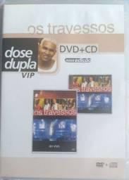 DVD+ CD - OS TRAVESSOS