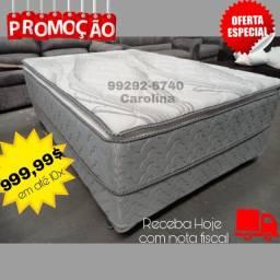 Cama Bopx Molas ensacadas c Pillow top (((((
