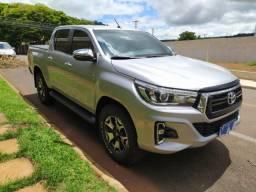Hilux srx 2.8 turbo diesel automática 4 x 4 16 v ano 2019