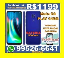 !!!Lançamento!!!! Moto G9 Play 64GB