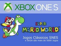 Emulador Snes, M. Drive +5000 Jogos Xbox One