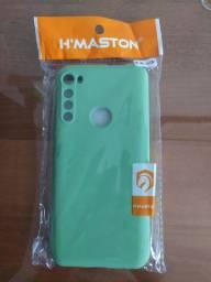 Capa de silicone aveludada Motorola One Fusion Plus