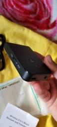 Receptor/Transmissor de sinal Bluetooth 5.0 aptx, com bateria, pequeno e portátil