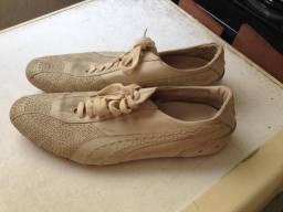 Sapato couro puma original - tamanho 43