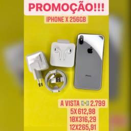 iPhone X 256 GB PROMOÇÃO!!!!