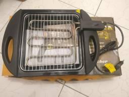 Churrasqueira Elétrica Fischer - nunca usada