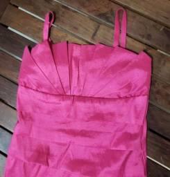 É Festa? Vestido Lindo Pink