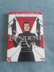 Filmes Resident Evil box + brindes