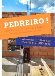 PEDREIRO OBRAS!!!