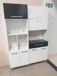 armário cozinha usado porem conservado entrego montado