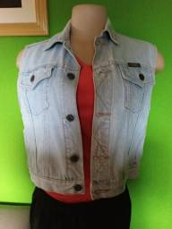 Colete Jeans Feminino Wrangler - P