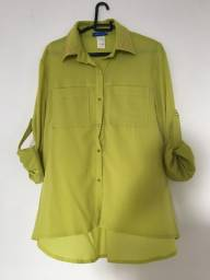 Blusa verde limão