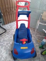 Carrinho De Passeio e Pedal Roller Baby