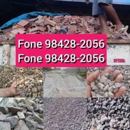 Pediu chegou A pronta entrega Seixo Areia Pedra Brita Pedra Rachão Pó da Brita