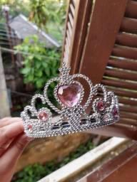 Coroa Princesa de plástico