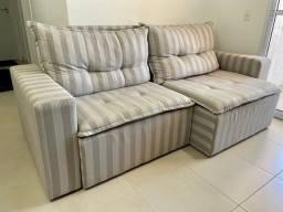 sofa de linho