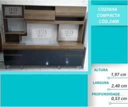 Cozinha compacta 2400