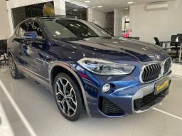 BMW X2 2018 2.0 16V TURBO GASOLINA SDRIVE20I M SPORT X STEPTRONIC AZUL COMPLETA + TETO SO
