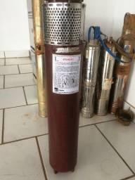 Bomba Submersível 6' 8hp 15 Estágios 220/380 Volts