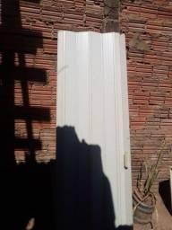 Porta sanfonada completa