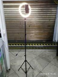 Ring Light Led Iluminador 26cm Completo