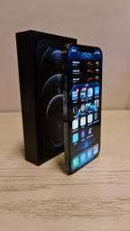 Iphone 12 Pro Max 256GB + Case de couro original Apple